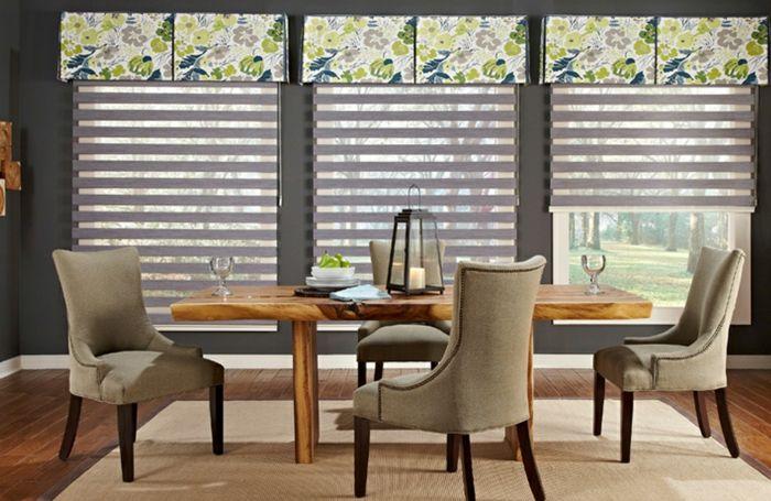 Fenster Sichtschutz Rollos Plissees Jalousien Oder Window Treatments Living Room Dining Room Window Treatments Dining Room Small