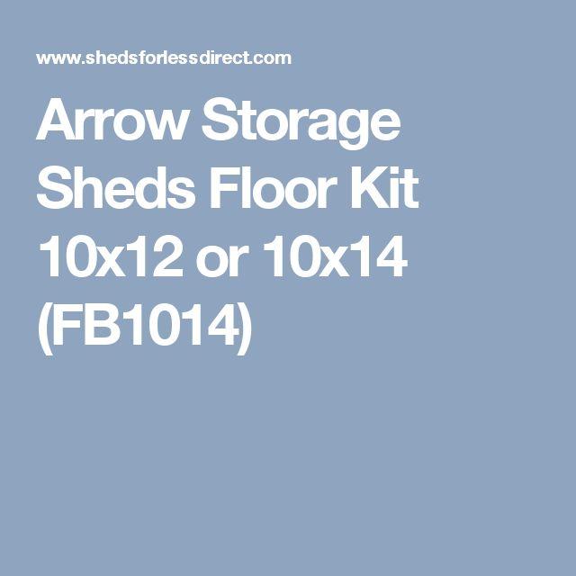 Arrow Storage Sheds Floor Kit 10x12 or 10x14 (FB1014)