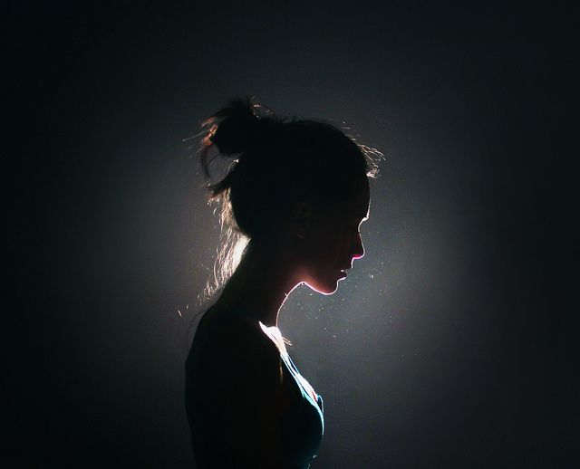 Image result for girl silhouette photography