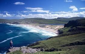 Sandwood Bay near Kinlochbervie, Sutherland in Scotland