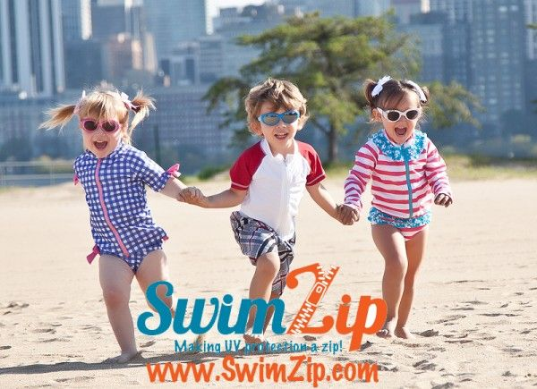 Fun Swimming Games For Kids! Plus, SwimZip Swimsuit Giveaway!