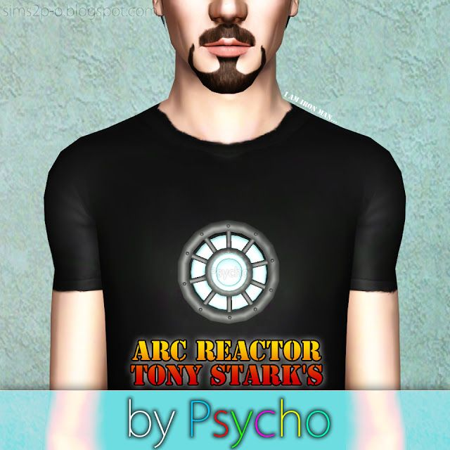 Arc Reactor Tony Stark 39 S Psycho The Sims 3 Marvel