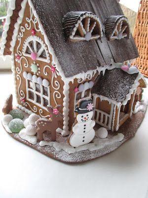 Mansikkamäki. Gingerbread house.                                                                                                                                                                                 More