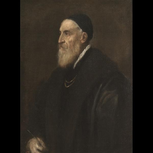 Tiziano Vecellio, Autoritratto, 1566 ca. Madrid, Museo Nacional del Prado © Museo del Prado