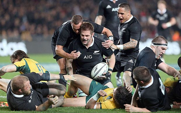 After 10 minutes in the bin, Richie Mc Caw cam back and scored 2 tries: New Zealand vs Australia 23 August 2014