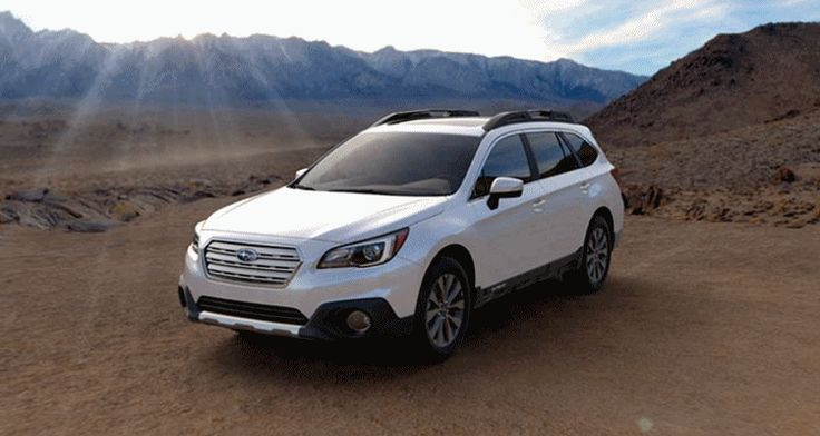 2015 subaru outback crystal white pearl - new car