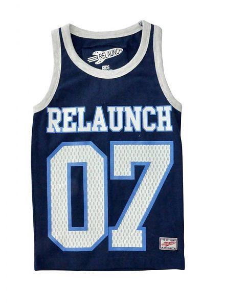 Relaunch Relaunch blauw singlet 07