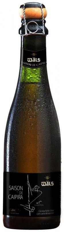 Cerveja Wäls Saison de Caipira, estilo Saison / Farmhouse, produzida por Cervejaria Wäls, Brasil. 6.5% ABV de álcool.