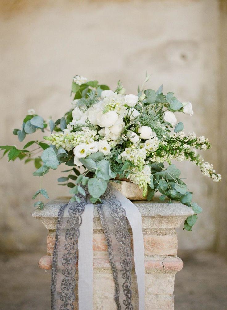 Photography : Greg Finck   Floral Design : Isa Events   Wedding Dress : Cortana   Venue : Villa Buonaccorsi Read More on SMP: http://www.stylemepretty.com/2015/09/14/romantic-italian-villa-wedding-inspiration-2/