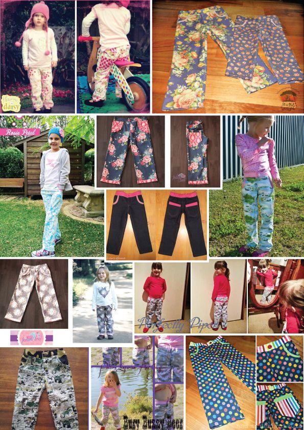 Customer pics - Ava Girls Jeans Pattern