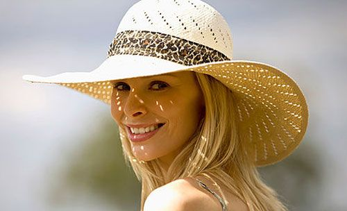 stetson straw hats for women | ... woman wearing a Beautiful Collection of Straw Hats for Women