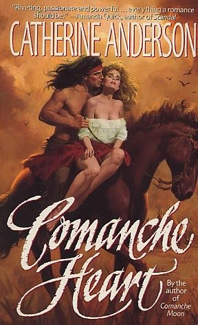 Comanche Heart by Catherine Anderson.  Published by HarperTorch in 1992.