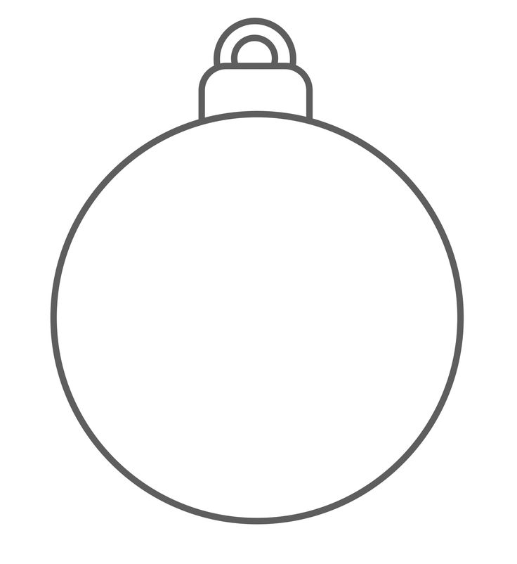 coloring pages christmas baubles hanging - photo#34