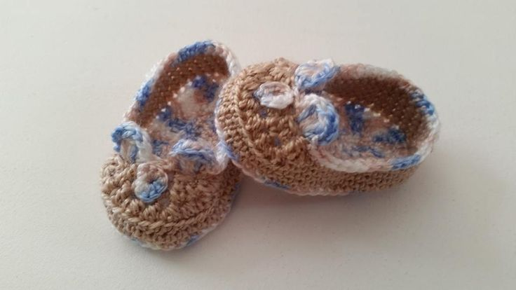 Zapatitos para Bebé en crochet