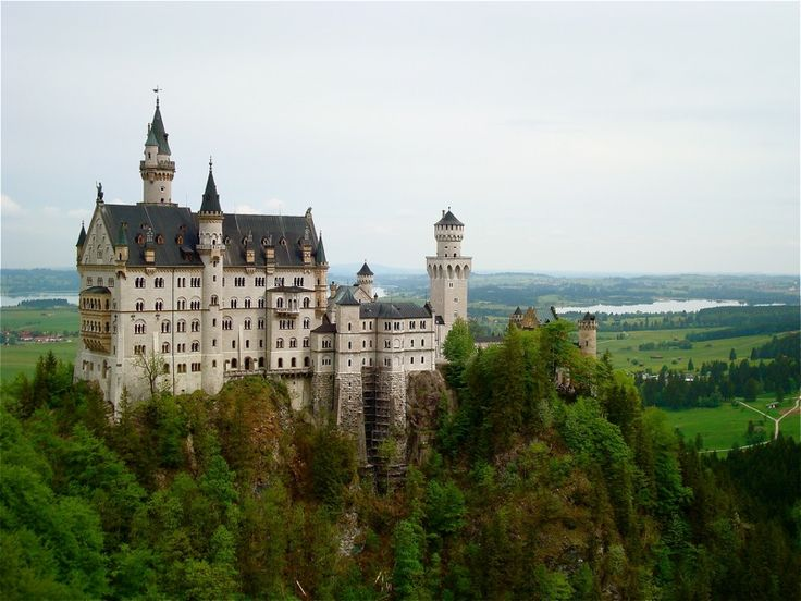 Bavorsko-Neuschwanstein