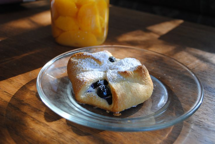 Blueberry Cream Cheese Danish - Like Mother, Like Daughter
