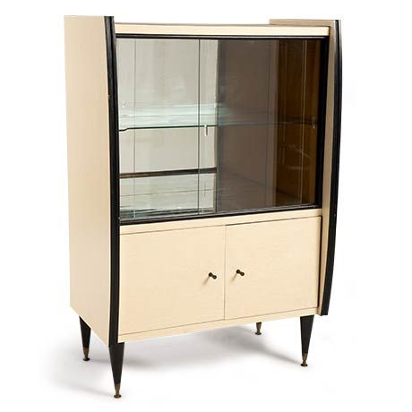 FIFTIES 1950ler MidCentury tarzı formika büfe   1950s MidCentury Style Formika Vintage Cabinet