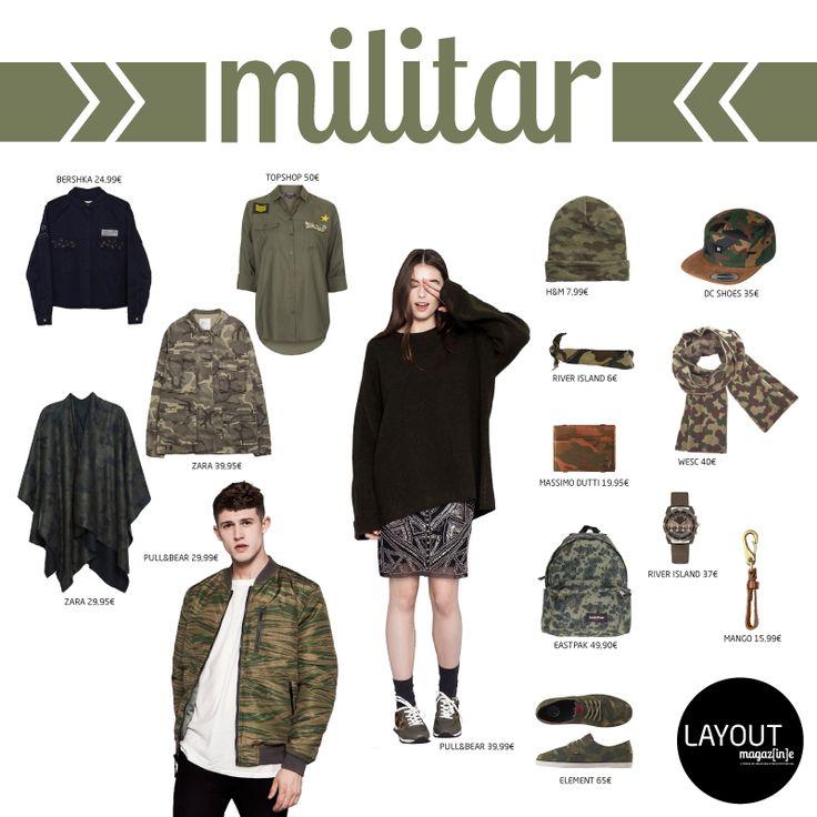 Tendência Militar  www.layout.com.pt/magazine