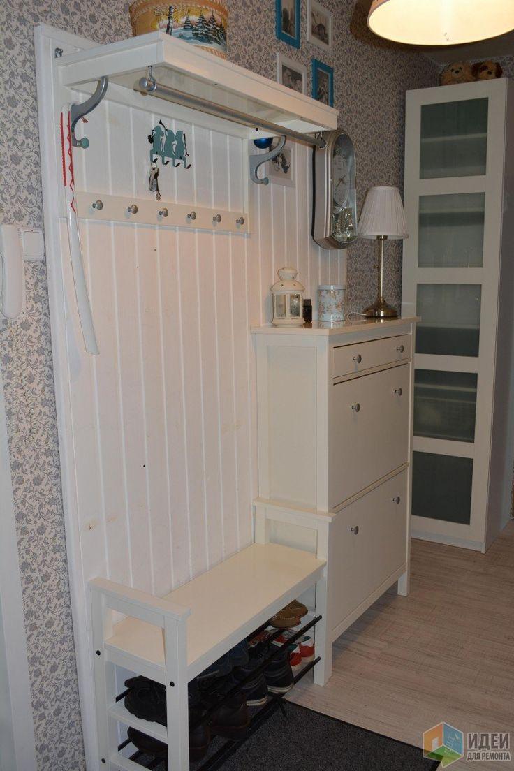 Белая мебель для прихожей