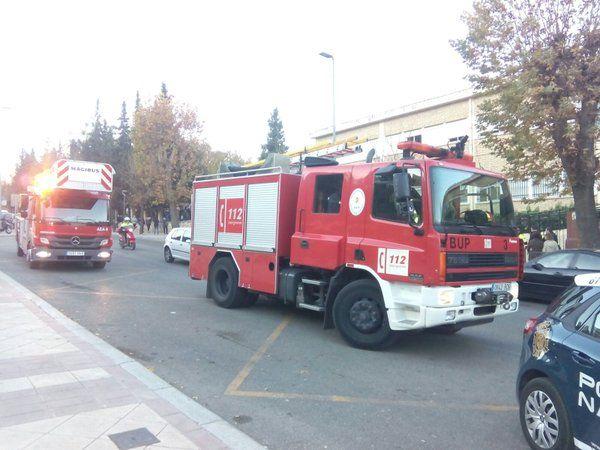 Un conato de incendio obliga a evacuar el instituto Jabalcuz de la capital