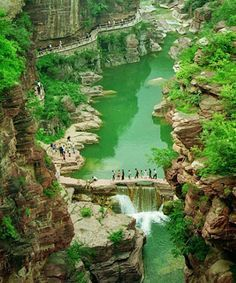 Amazing Yuntaishan Global Geopark Henan - China