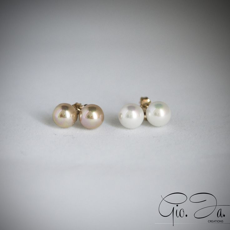 Mallorca Pearls Spots Earrings