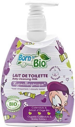 Kremowe mleczko toaletowe o naturalnym zapachu, na bazie soku z organicznego aloesu, delikatnie myje i pielęgnuje ciało dziecka. Produkt delikatny i bezpieczny dla skóry.