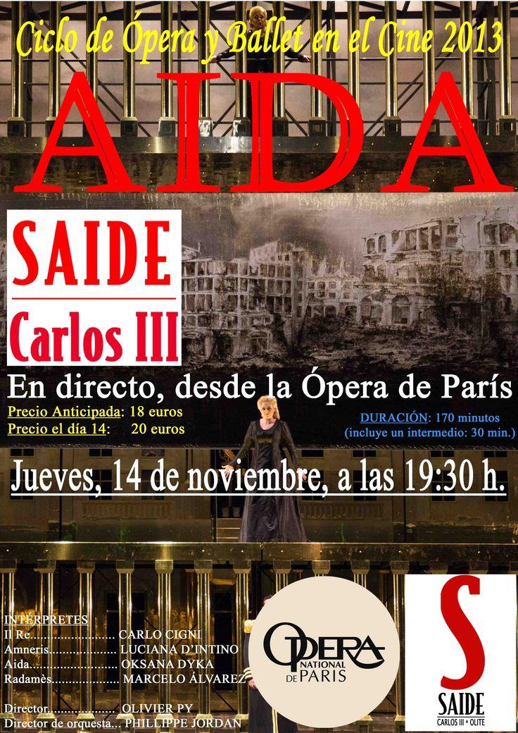 ÓPERA: AIDA (VERDI) | Ameneris, LUCIANA D'INTINO Aida, OKSANA DYKA, Radamès, MARCELO ALVAREZ. D.d'orquestra Philippe Jordan.170 m. ÓPERA DE PARIS: