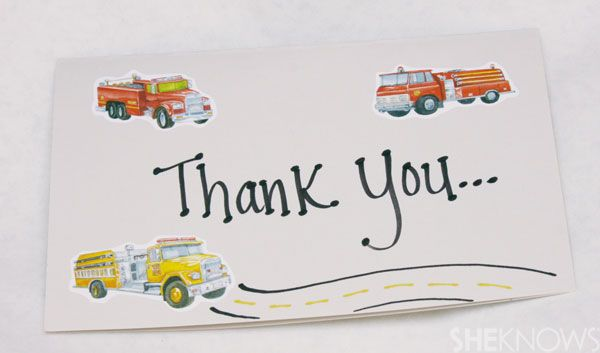Labor day craft Thank you cards for the community workers. Alle LOVES our mail man and garbage men. They are always so nice to her too.