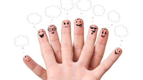Чудесные стишки для изучения названий пальчиков