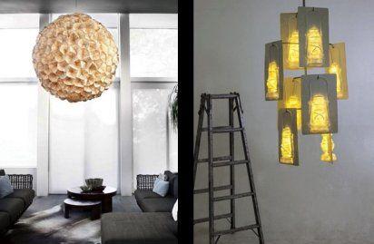 Cómo fabricar lámparas de papel: Lamps, Fabricar Lámparas, Cómo Fabricar, Lamparas Con, Paper, Papel Económicas, Blog, Tubes