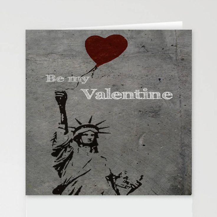 liberty valentine's card by designed by ruth | notonthehighstreet.com