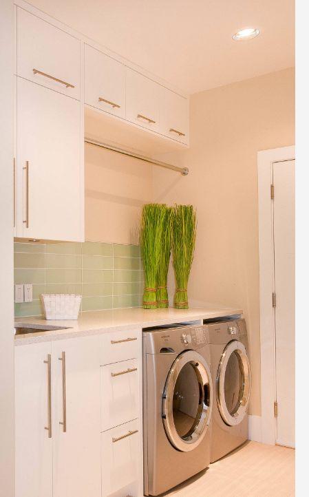 laundry setup