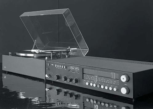 Plattenspieler PS 500 und Steuergerät regie 510 von Braun