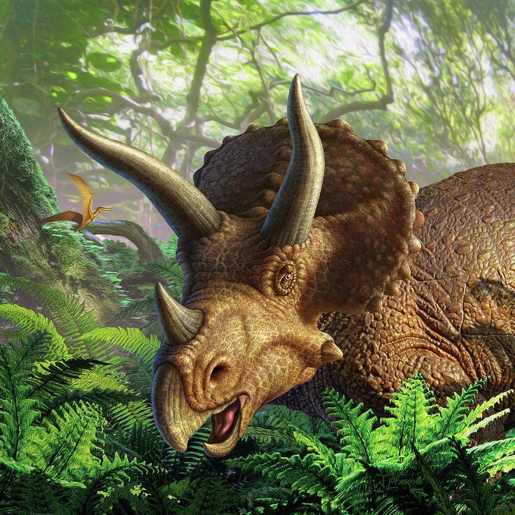 среднерусские динозавр с рогами картинки очень