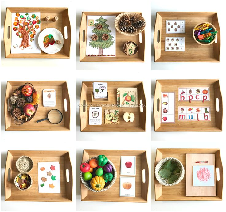 The Pinay Homeschooler: Montessori Inspired Autumn Themed Learning Activit...