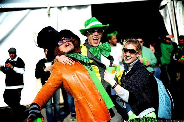 ShamrockFest in Washington, DC, Saint Patrick's Day Shamrock Fest celebration at RFK Stadium Festival Grounds
