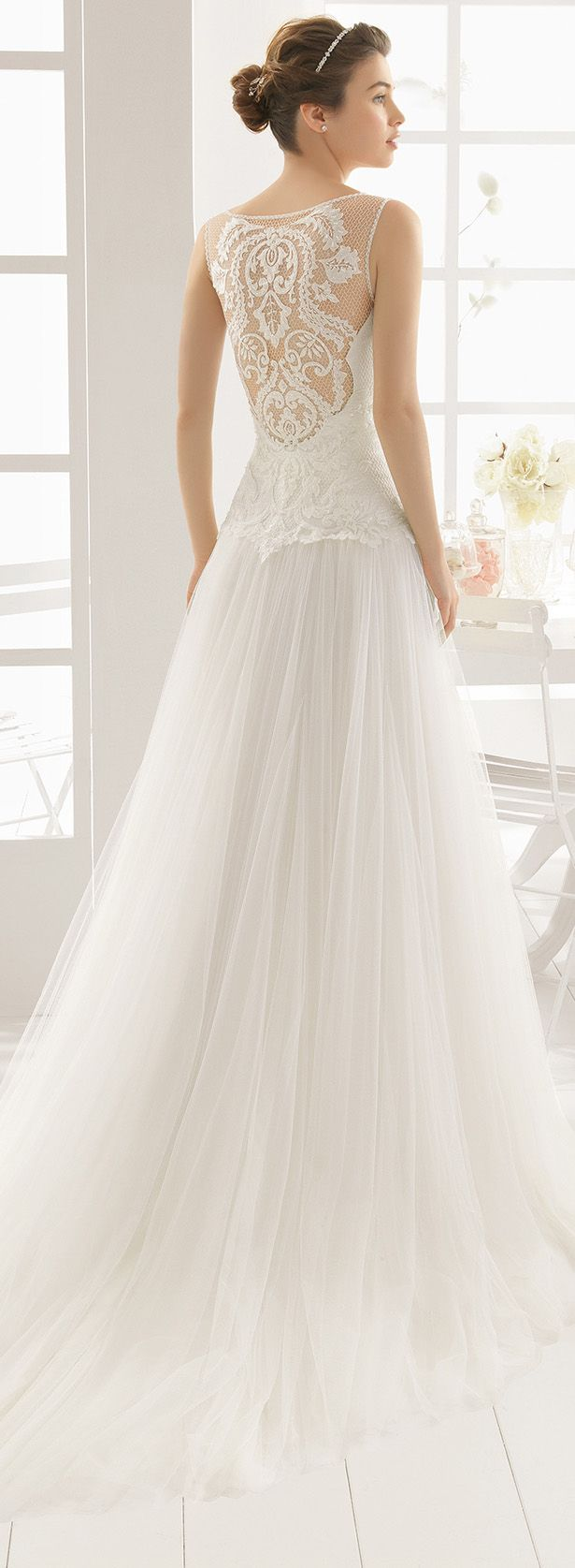 Aire Barcelona 2016 Wedding Dress - Belle The Magazine