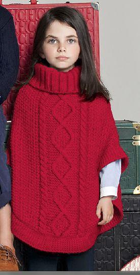 Capas para niña. Carolina Herrera. Colección 2013-2014.
