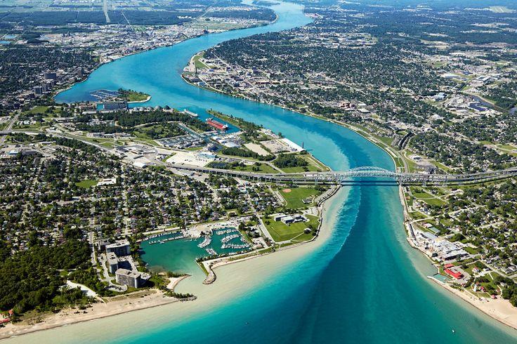 #AerialPhotography of Town #Waterway #AerialPhotographer #Aerial [BP imaging - Bochsler Photo Imaging]