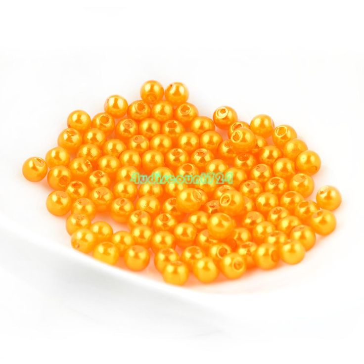 Artificial-Pearl-Round-Loose-Beads-100-4mm-50-6mm-Mutiple-Colors