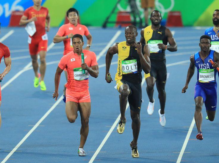 五輪陸上 男子400メートルリレー 日本が銀メダル #陸上 #リオ五輪
