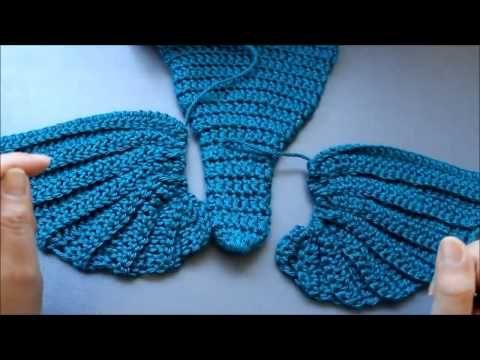 Shark Tale Cocoon Crochet Pattern Free : 1000+ ideas about Crochet Mermaid on Pinterest Crochet ...