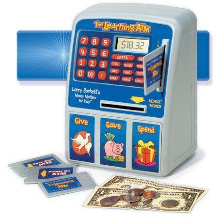 The Learning ATM  based on Larry Burkett's Money Matters for Kids.