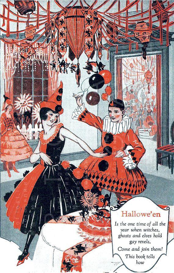 1920's HALLOWEEN COSTUME Party STUNNING Art Deco Bogie