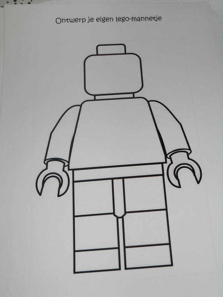 Ontwerp je eigen lego mannetje tekenen handvaardigheid for Eigen badkamer tekenen