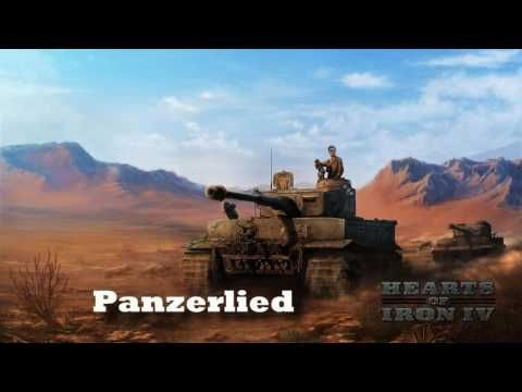 Hearts of Iron IV - Panzerlied (German March) - YouTube