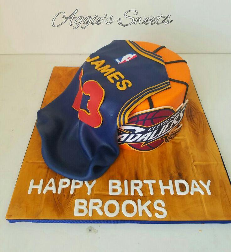 LeBron James/Cleveland Caveliers  Birthday Cake