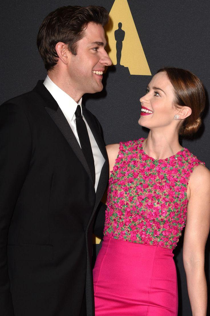 16 of Emily Blunt and John Krasinki's Cutest Couple Moments  - HarpersBAZAAR.com