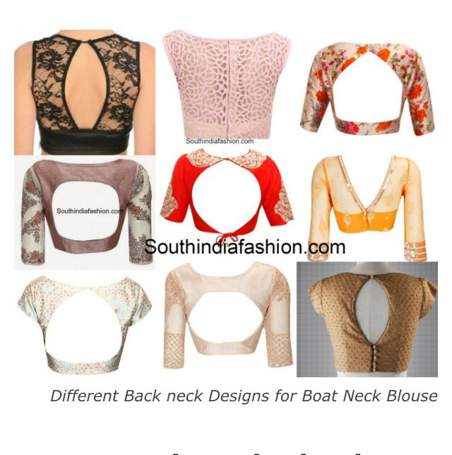 Backs of boat neck